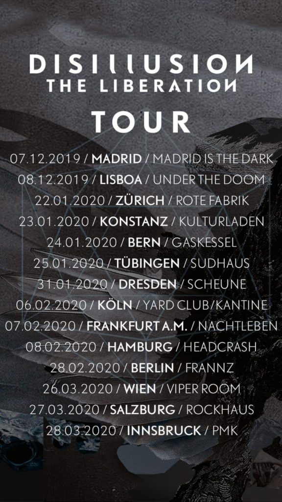 Disillusion The Liberation Tour 2019-2020